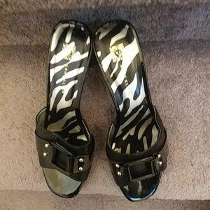 NWOT Ann Klein Women's Leather Sandals
